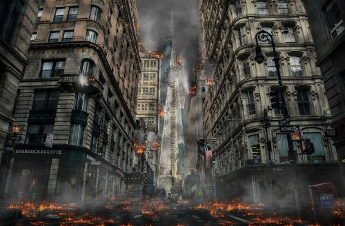 destruction war conflict