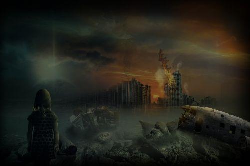destruction war helplessness