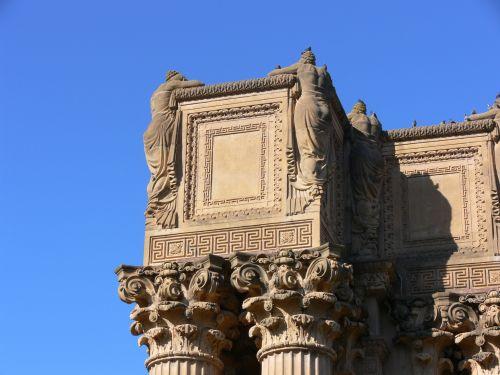 Detail Of Carved Pillars 2