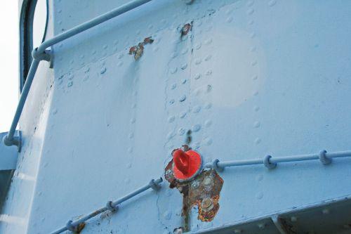 Detail On Naval Cruise Vesel