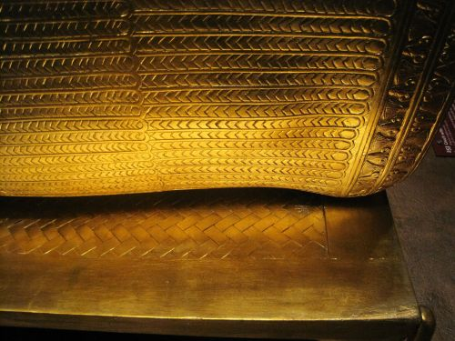 Detail On Tutankhamun's Coffin