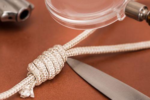 detective crime scene dagger