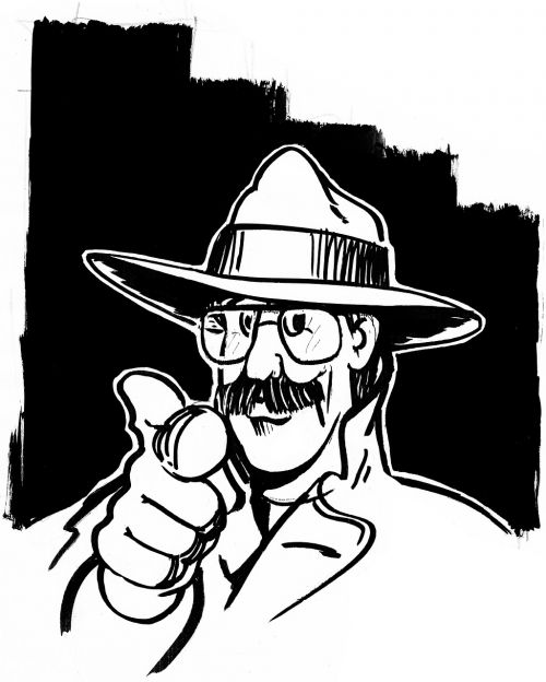 detective crime hat