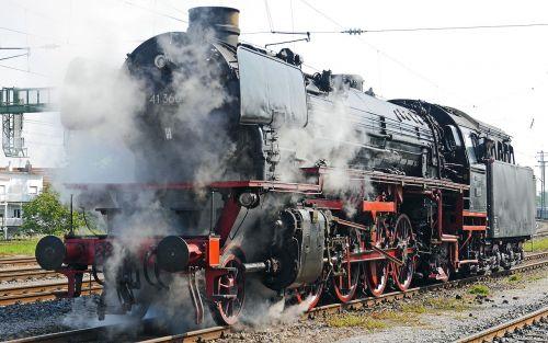 deutsche bahn locomotive steam locomotive