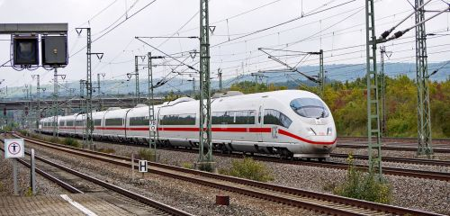 deutsche bahn ice high-speed rail line