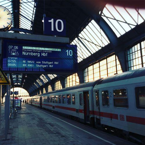 deutsche bahn railway station karlsruhe