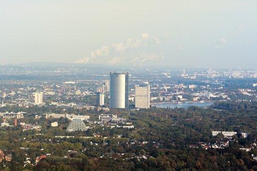 deutsche post  posttower  bonn