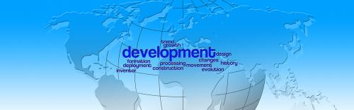 development globe continents