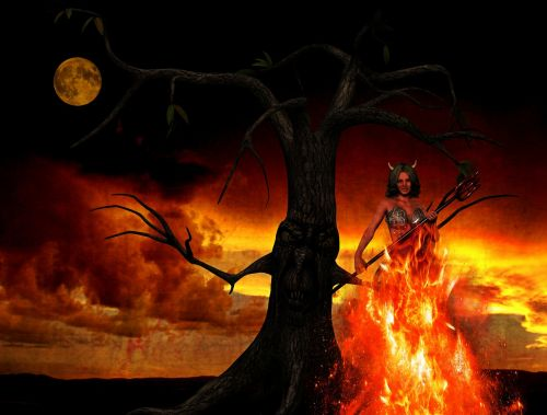 devil hell woman