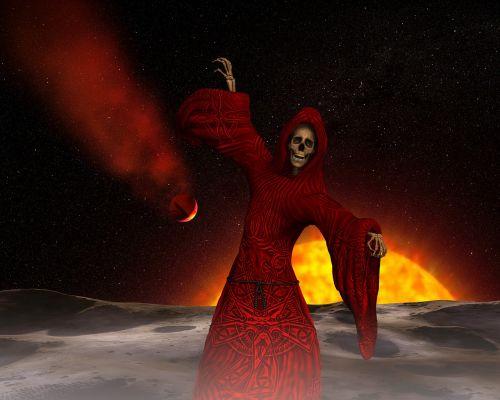 devil frame mystical