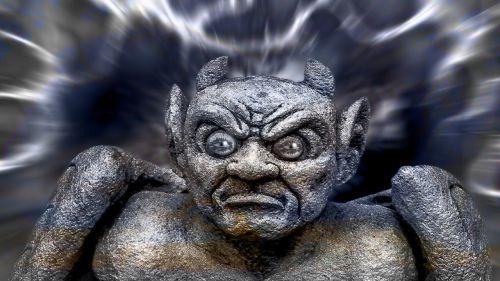devil mask fash