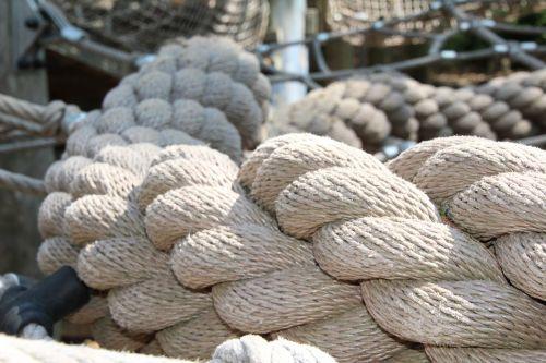 dew rope fixing