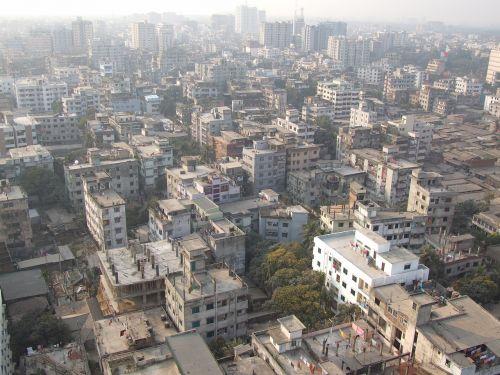 dhaka city building city