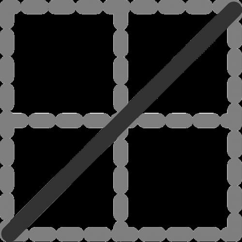 diagonal line table