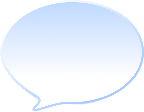dialog speech bubble