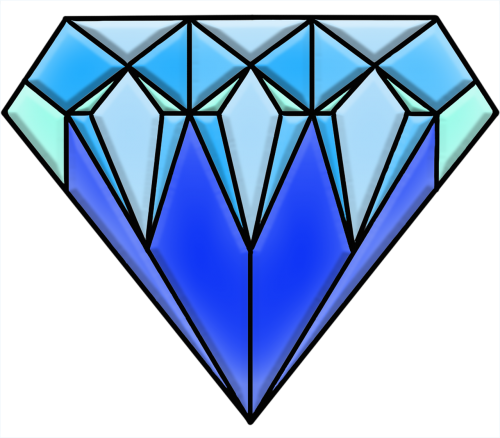 diamond blue jewel