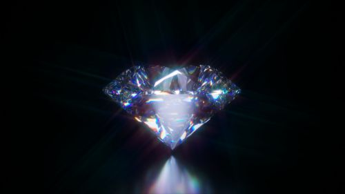 diamond gemstone round brilliant cut