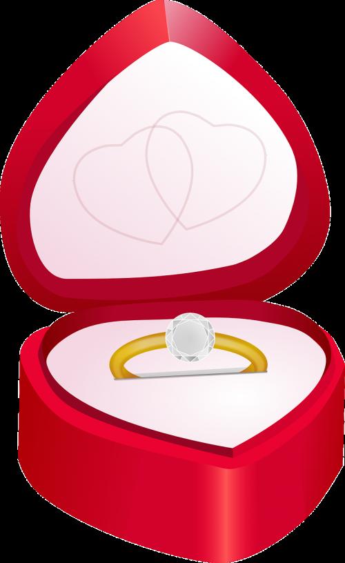 diamond engagement love
