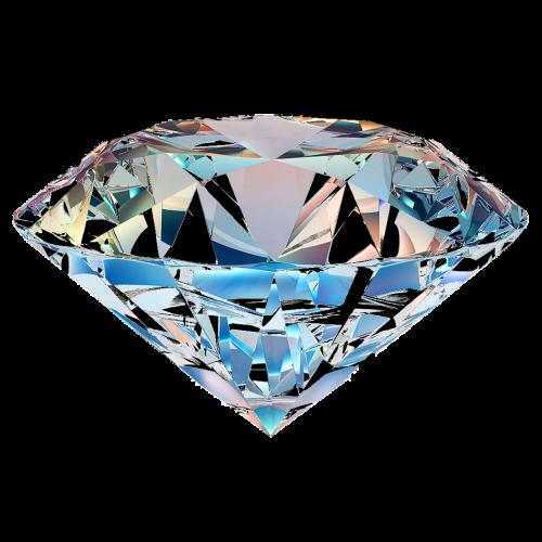 diamond isolated transparent