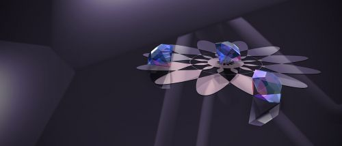 diamond the purity of the blue