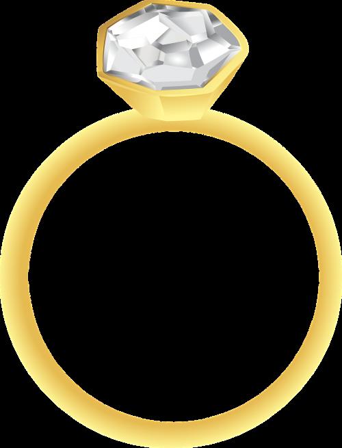 diamond ring gold