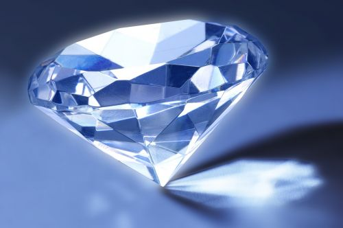 diamond gem refraction
