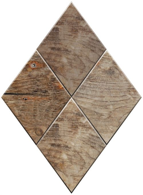diamond shape wood