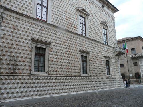 diamond palace italy ferrara