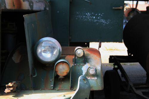 Diamond T Truck Head Lamp