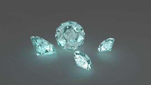 diamonds jewelry shine