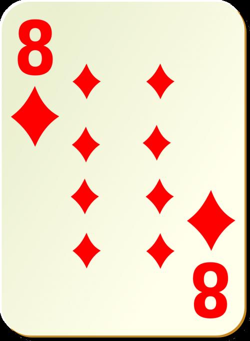 diamonds 8 eight