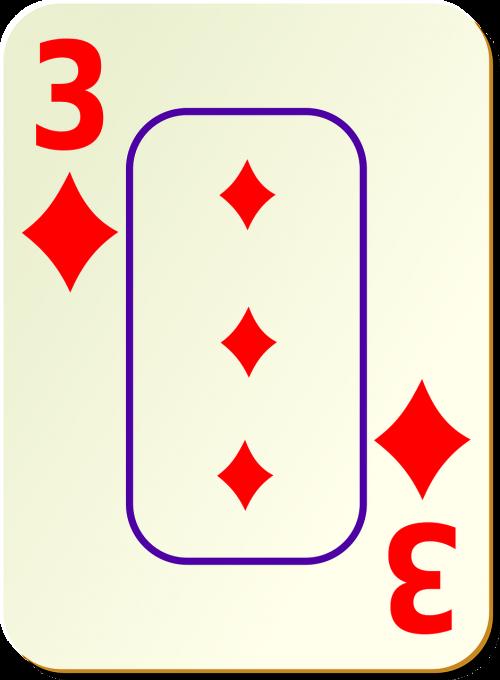 diamonds three 3