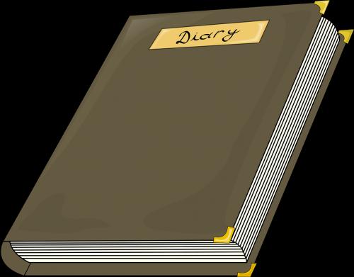 diary hardbound hard cover