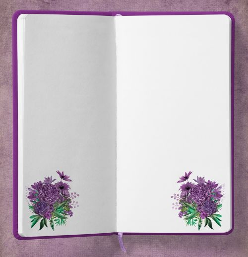 diary bouquet flowers