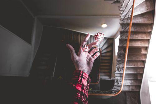 dice luck hand