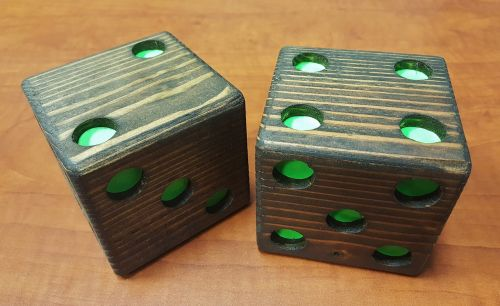 dice die wooden dice