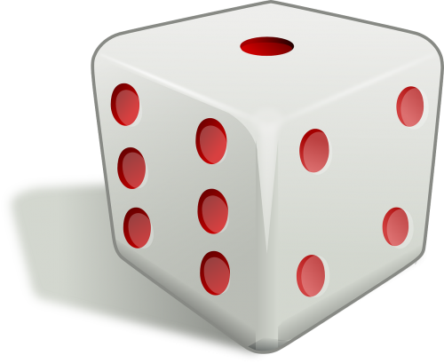 dice cube die