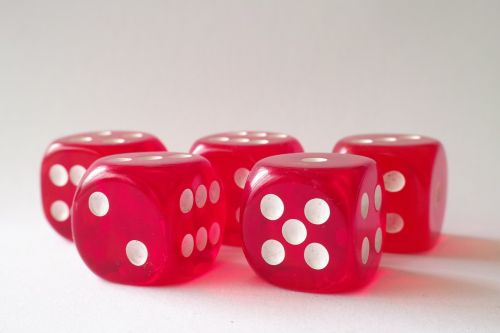 dice cubes game