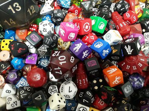 dice d20 game