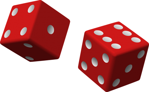 dice red two