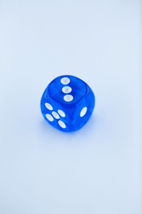 dice numbers dice game