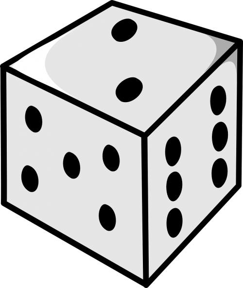 dice numbers roll