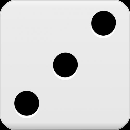 dice roll three