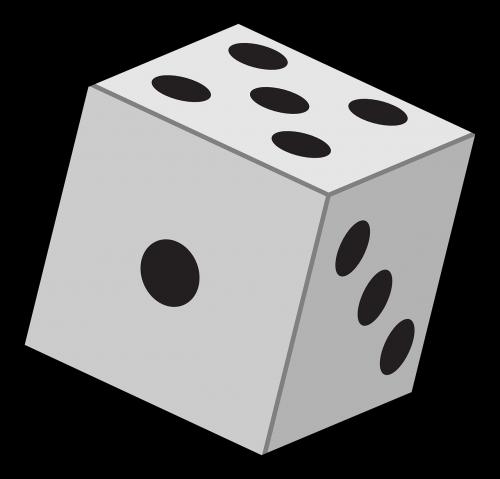 dice six faces