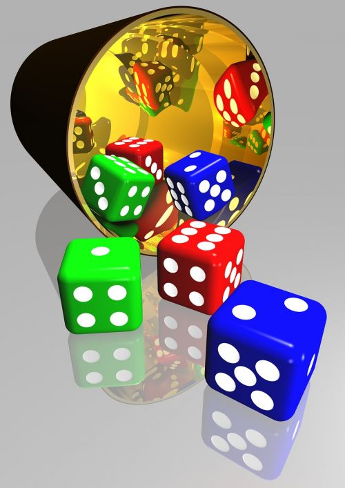 dice gaming play