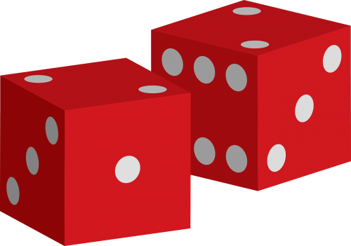 dices red game