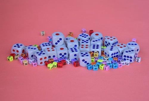 dices  cubes  square