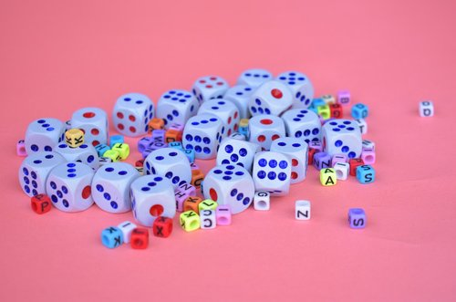dices  cubes  play