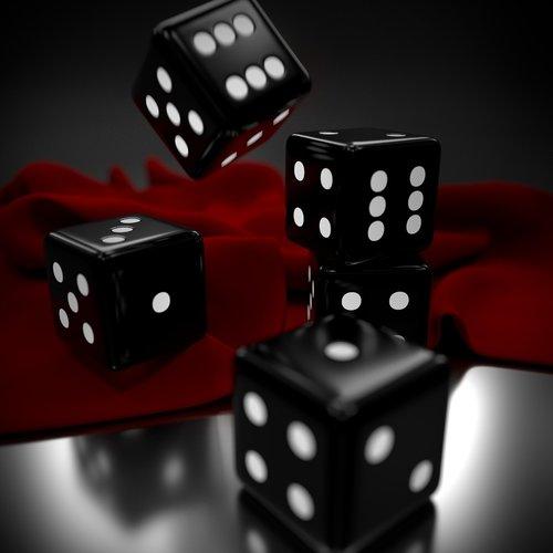 dices  gambling  luck