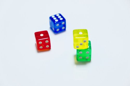 dices  small  colorful